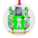 Falk Round Ornament