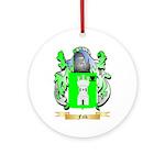 Falk Ornament (Round)