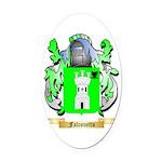 Falconetto Oval Car Magnet