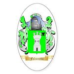 Falconetto Sticker (Oval 50 pk)