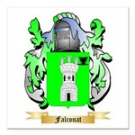 Falconat Square Car Magnet 3