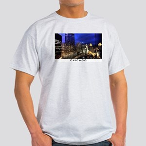 Chicago Cityscape Light T-Shirt