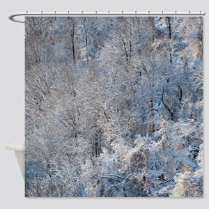 SnowBeauty Shower Curtain
