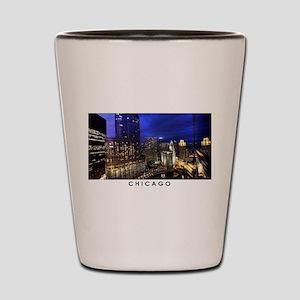 Chicago Cityscape Shot Glass
