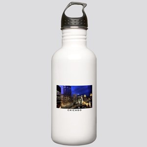 Chicago Cityscape Stainless Water Bottle 1.0L