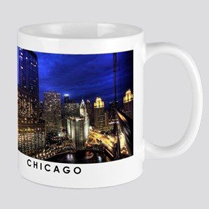 Chicago Cityscape 11 oz Ceramic Mug