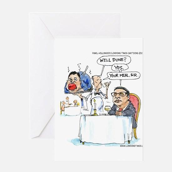WildSteen Eats Christie Greeting Cards