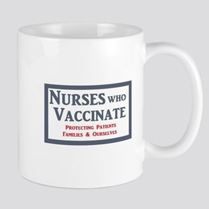 Nurses Who Vaccinate Logo Mugs