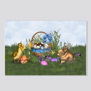 Easter Bunny Postcards (Package of 8)