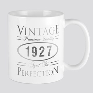 Vintage 1927 Birthday Mugs