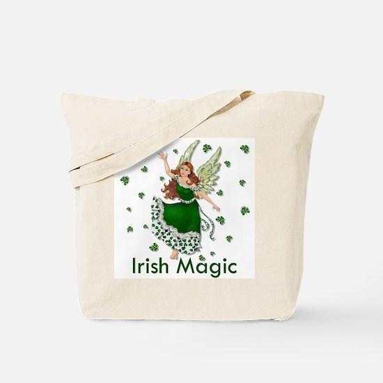 Irish Shamrock Magic Tote Bag