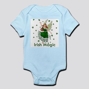 Irish Shamrock Magic Infant Bodysuit