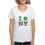 I NY Women's V-Neck T-Shirt