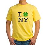 I NY Yellow T-Shirt