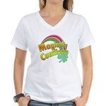 Magiclly Cuntlicious Women's V-Neck T-Shirt
