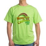 Magiclly Cuntlicious Green T-Shirt