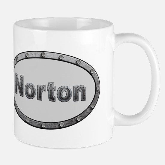 Norton Metal Oval Mugs