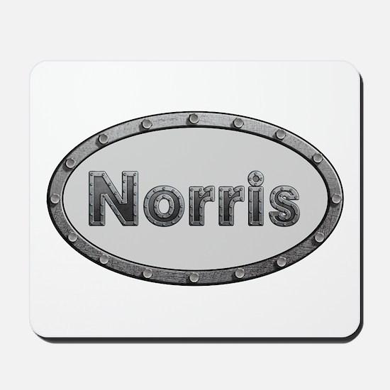 Norris Metal Oval Mousepad
