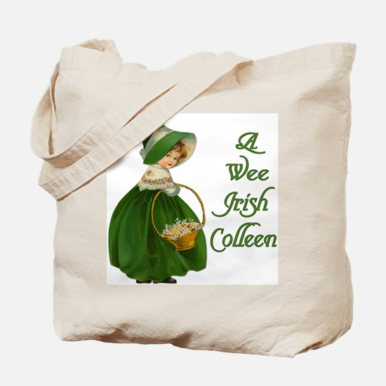 Irish Colleen Tote Bag