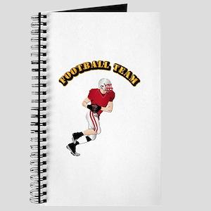Sports - Football Team Journal
