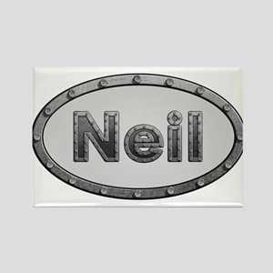 Neil Metal Oval Magnets