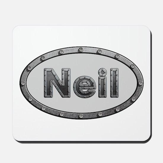 Neil Metal Oval Mousepad