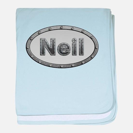 Neil Metal Oval baby blanket