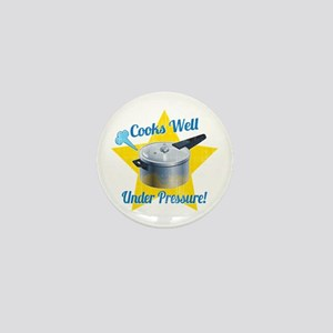 Cooks Well Mini Button