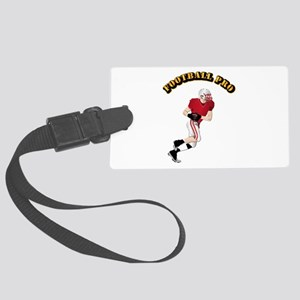 Sports - Football Pro Large Luggage Tag