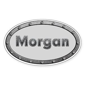 Morgan Car Oval Stickers Cafepress