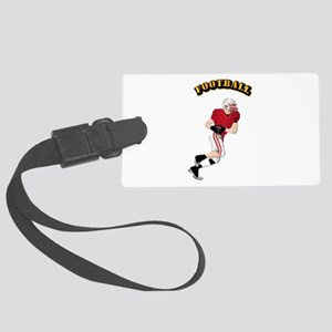Sports - Football Large Luggage Tag