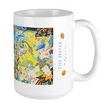 Mardi Gras Jester Large Mug