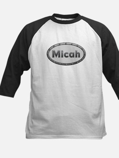Micah Metal Oval Baseball Jersey