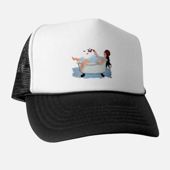 Cute Bathtub Trucker Hat
