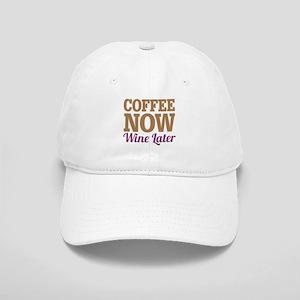 Coffee Now Wine Later Cap