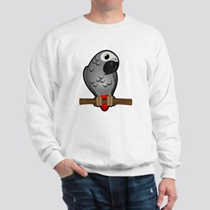 African Grey Sweatshirt