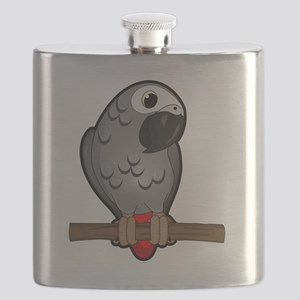 African Grey Flask