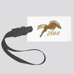 Year of the Horse Luggage Tag