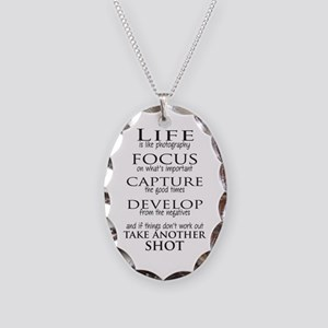 Life is like photography Necklace