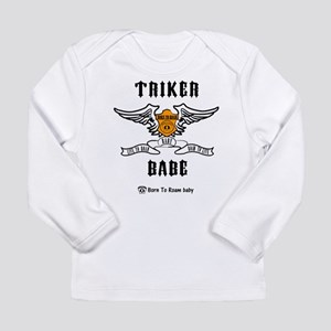 Triker Babe Long Sleeve T-Shirt