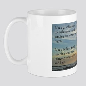 Lighthouse, friend Mug