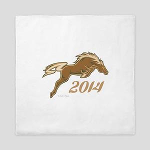 Year of the Horse Queen Duvet