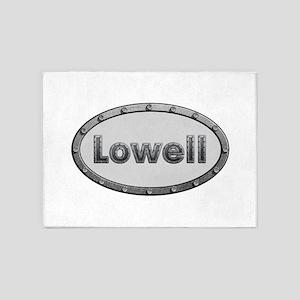 Lowell Metal Oval 5'x7'Area Rug