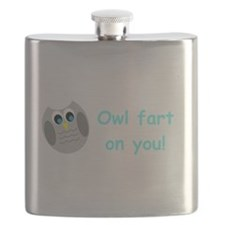 Owl fart on you! Flask