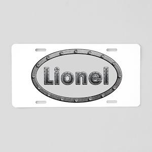 Lionel Metal Oval Aluminum License Plate