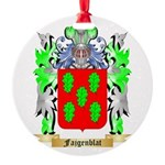 Fajgenblat Round Ornament