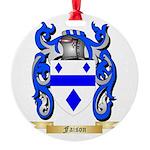 Faison Round Ornament