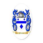 Faison Oval Car Magnet