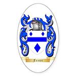 Faison Sticker (Oval 50 pk)