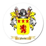 Fairlie Round Car Magnet